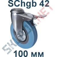 Опора SChgb 42 100 мм под болт c тормозом