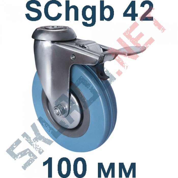 Опора SChgb 42 крепление под болт c тормозом