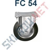 Опора колесная неповоротная FC 54 125 мм