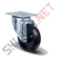 Опора колесная поворотная EM01 BKB 80 термостойкая