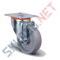 Опора колесная поворотная EM01 VKV 80 термостойкая