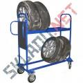 Тележки для шин и колес
