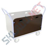 Борт ФЛ 1200 для платформенной тележки фанерный 1200*530