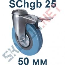 Опора SChgb 25 50 мм под болт c тормозом