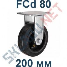 Опора чугунная FCd 80 200 мм неповоротная