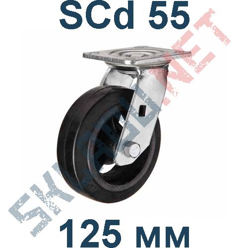 Опора чугунная SCd 55 поворотная