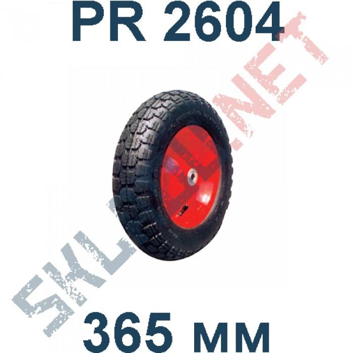 Колесо пневматическое PR 2604