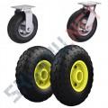 Пневматические колеса для тачек и тележек