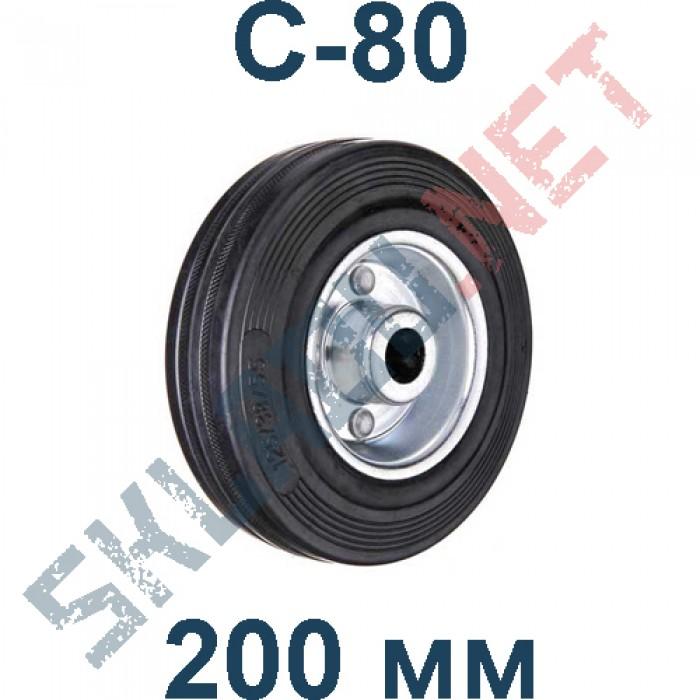 Колесо промышленное C 80 без кронштейна