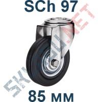 Опора колесная SCh 97 85 мм крепление под болт