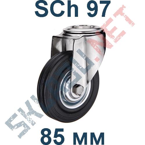 Опора колесная SCh 97 крепление под болт