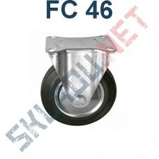 Опора колесная неповоротная FC 46 100 мм