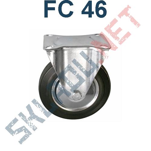 Опора колесная неповоротная FC 46