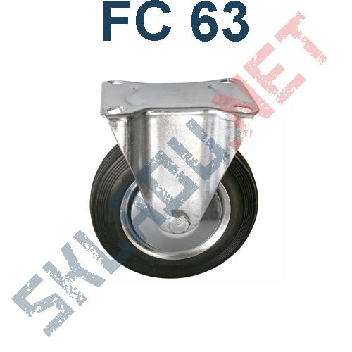 Опора колесная неповоротная FC 63