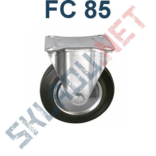 Опора колесная неповоротная FC 85