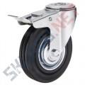 Промышленные колеса под болт с тормозом