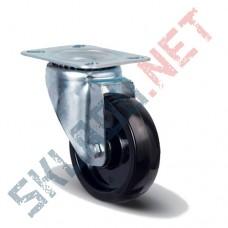Опора колесная поворотная EM01 BKB 100 термостойкая