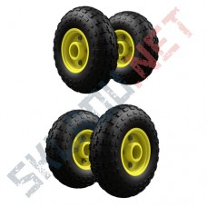 Комплект 4 пневматических колес диаметром 250 мм