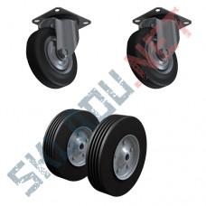 Комплект литых колес 2 шт 160 мм и 2 шт 200 мм