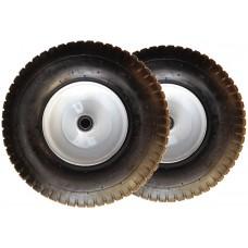 Комплект пневмо колес диаметром 350 мм для двухколесных тележек