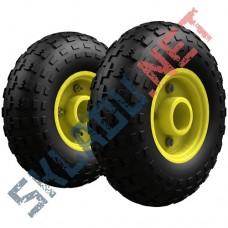 Комплект пневматических колес диаметром 250 мм для двухколесных тележек