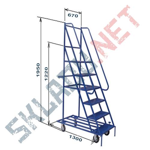 Лестница Л 5 цельносварная 5 ступеней