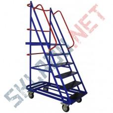 Лестница ЛС 6 шесть ступеней и высота 1460 мм