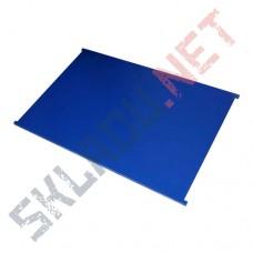 Полка сплошная для сетчатых шкафов 600x900