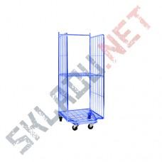 Ролл контейнер К 2 окрашенный выдвигаемый