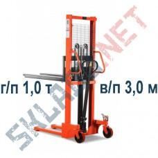 Штабелер ручной SDJ1030 г/п 1,0 т в/п 3,0м