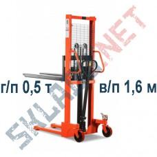 Штабелер ручной SDJ500 г/п 0,5 т в/п 1,6м