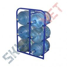 Стеллаж для воды СВД-6 стационарный
