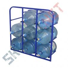 Стеллаж для воды СВД-9 стационарный