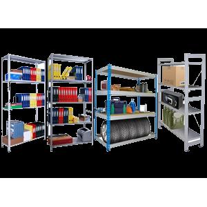 Стеллажи и системы складирования