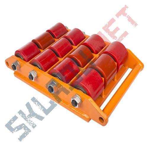 Роликовая платформа поворотная CRA-12 г/п 18тн