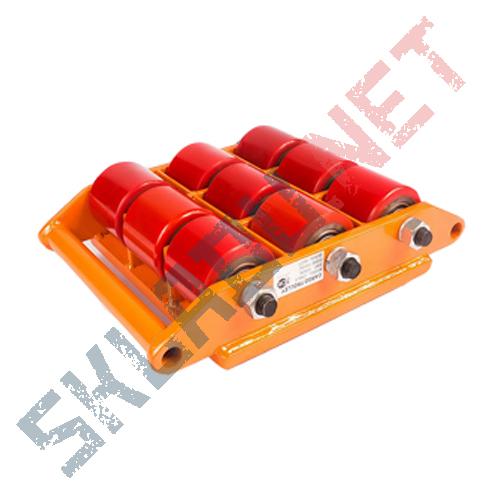 Роликовая платформа поворотная CRA-9 г/п 15тн