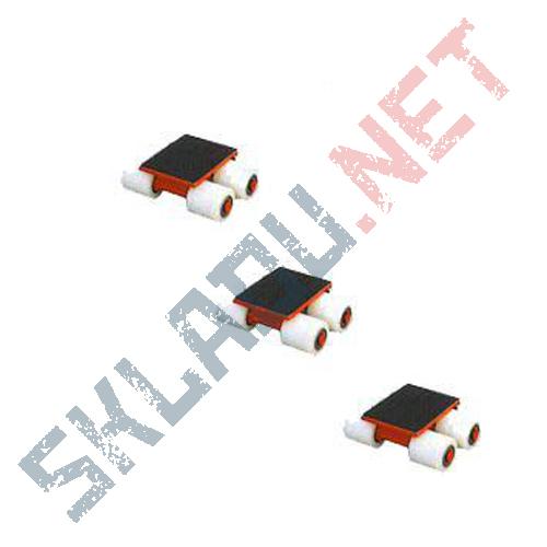 Роликовая платформа подкатная  3000R-04W г/п 3т