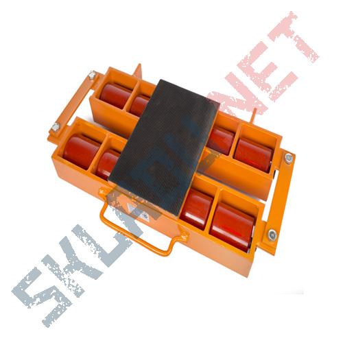 Роликовая платформа подкатная 6000R-08W г/п 6т
