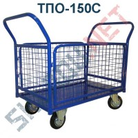 Платформенная тележка ТПО-150С  500х800