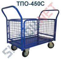 Платформенная тележка ТПО-450С 700х1250