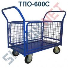 Платформенная тележка ТПО-600С 800х1400