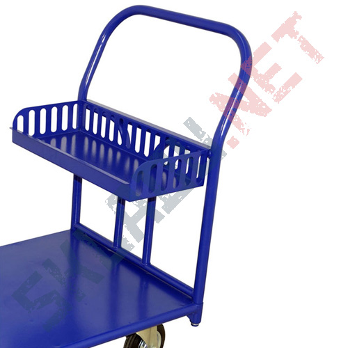 Быстросъемная корзина для платформенных тележек 750*300