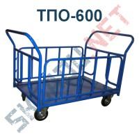 Платформенная тележка ТПО-600 800х1400