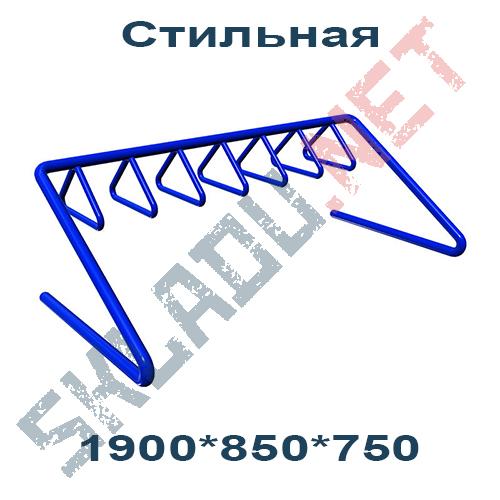 """Велопарковка """"Стильная"""" 1900*850*750"""