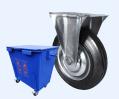Колесные опоры для мусорных контейнеров (ТБО)